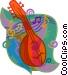 mandolin Vector Clip Art picture