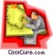 batteries Vector Clip Art image