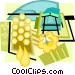 apiary Vector Clip Art image