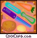 vegetable peeling instruments Vector Clip Art picture