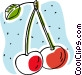 cherries Vector Clipart image