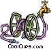 garden hose Vector Clip Art image