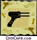 soldering gun Vector Clipart graphic