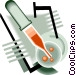 laboratory tools Vector Clipart graphic
