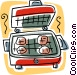 grill Vector Clipart graphic