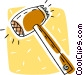 food mallet Vector Clipart picture