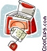 tea bags Vector Clipart illustration