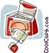 tea bags Vector Clipart illustration
