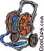 garden hose Vector Clip Art picture