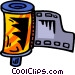 film canister Vector Clip Art graphic