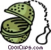 tea ball Vector Clip Art image