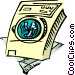 clothes dryer Vector Clip Art graphic
