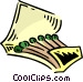 book of matches Vector Clip Art picture