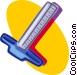 T-square Vector Clip Art image