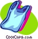tank top Vector Clipart image