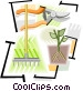 gardening tools Vector Clip Art graphic