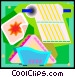 paper towel and napkins Vector Clip Art graphic