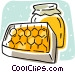 honey Vector Clipart illustration