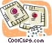 sugar packets Vector Clipart graphic