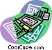 personal organizer Vector Clipart graphic