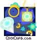 diamond jewelry Vector Clipart image