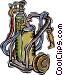 welding equipment Vector Clipart image