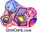 color digital scanners Vector Clip Art picture