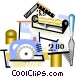mason industry Vector Clipart graphic