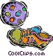 kids soccer ball Vector Clip Art picture