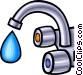 faucet Vector Clip Art graphic