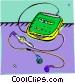 Discman Vector Clip Art graphic