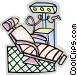 Dentist chair Vector Clipart graphic