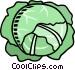 lettuce Vector Clipart illustration