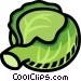 lettuce Vector Clip Art image