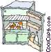 refrigerator Vector Clip Art picture