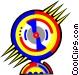 wheel game Vector Clip Art graphic