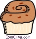 muffin Vector Clipart graphic