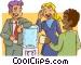 water cooler Vector Clip Art image