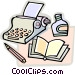 typewriter Vector Clip Art graphic