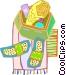 shower kit Vector Clip Art image