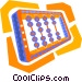 abacus Vector Clip Art graphic