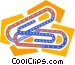 paperclips Vector Clipart graphic