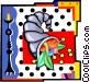 cornucopia Vector Clipart graphic