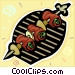 Shish kebab Vector Clip Art graphic