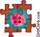 button Vector Clipart image