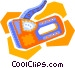 staple gun Vector Clip Art graphic