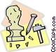 sculpture Vector Clip Art image