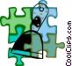 paint scraper Vector Clip Art image