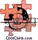 electric saw Vector Clip Art picture