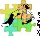 axe Vector Clip Art graphic